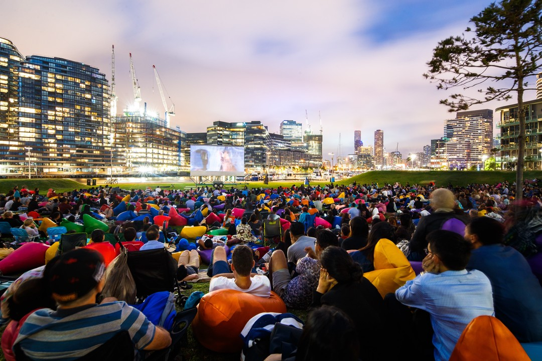 Yarra's Edge open air cinema