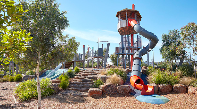 Woodlea children's playground park